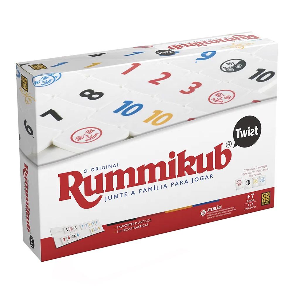 Rummikub Twist Jogo de tabuleiro Grow 03455  - Place Games