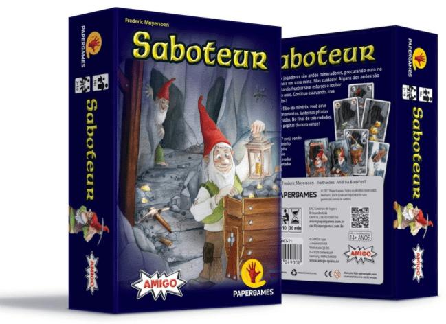 Saboteur Jogo de Cartas PaperGames J007  - Place Games