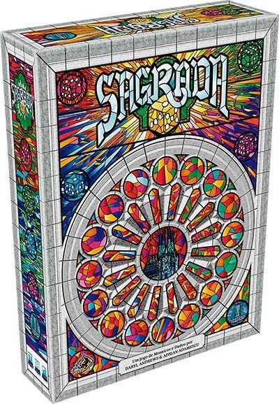 Sagrada Jogo de Tabuleiro Galapagos SAG001  - Place Games