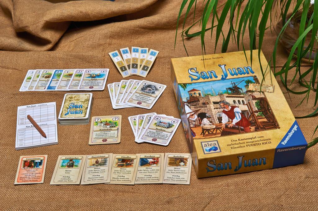 San Juan Jogo de Cartas Grow 3451  - Place Games