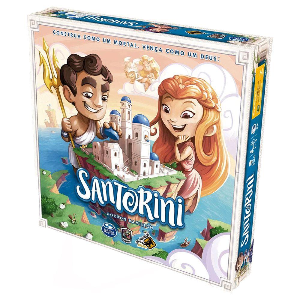 Santorini Jogo de Tabuleiro Galapagos SAN001  - Place Games
