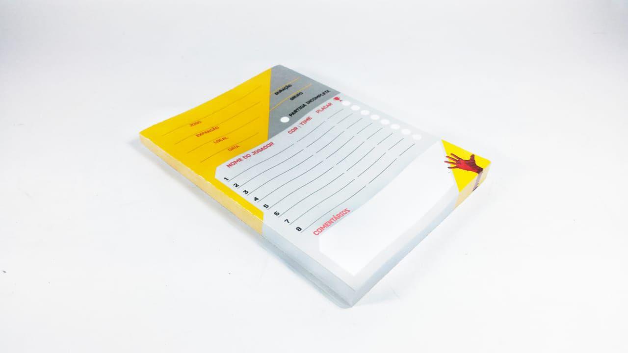 Score Pad Tabela de pontuação PaperGames A001  - Place Games