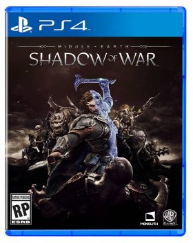 Sombras da Guerra Br - 2017 - PlayStation 4  - Place Games