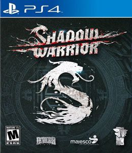 Shadow Warrior Playstation 4 Original Usado  - Place Games