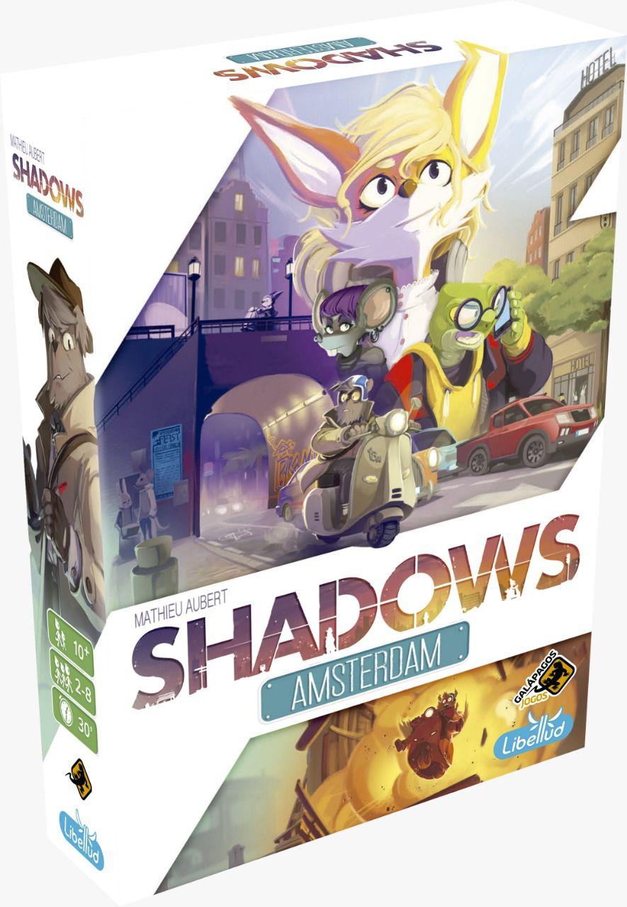 Shadows Amsterdam Jogo de Tabuleiro Galapagos SHA001  - Place Games