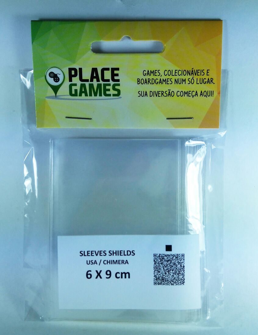 Shields Sleeves Chimera 60 X 90mm Capas protetoras 100 unidades  - Place Games