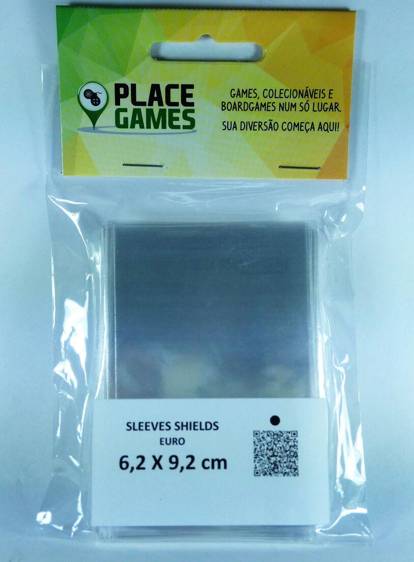 Shields Sleeves Euro 62 X 92mm Capas protetoras 100 unidades  - Place Games
