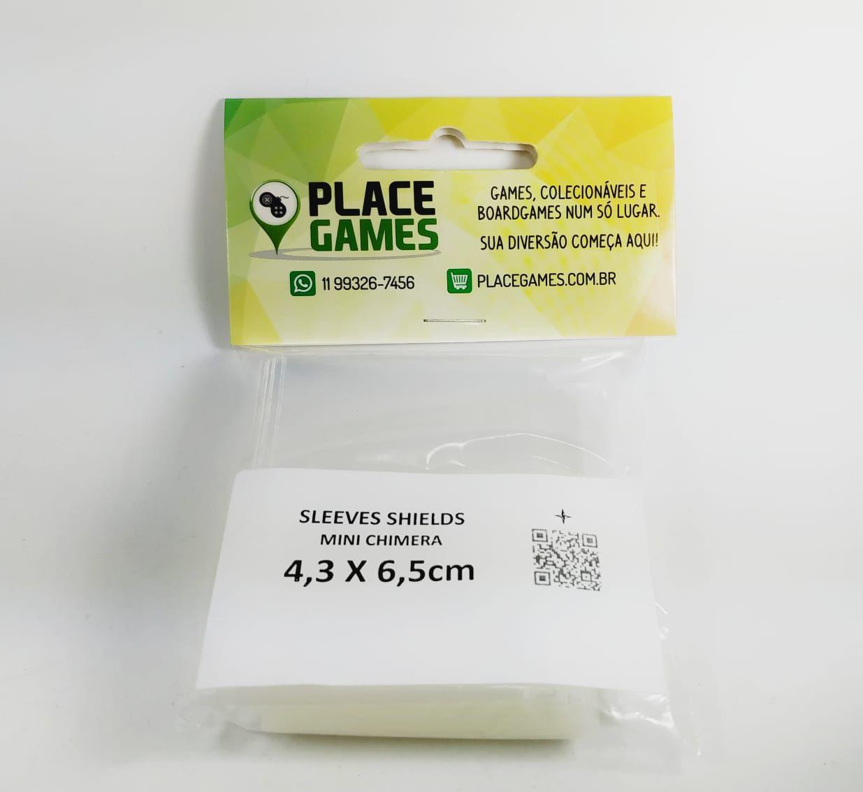 Shields Sleeves Mini Chimera 43 X 65mm 100 unidades  - Place Games