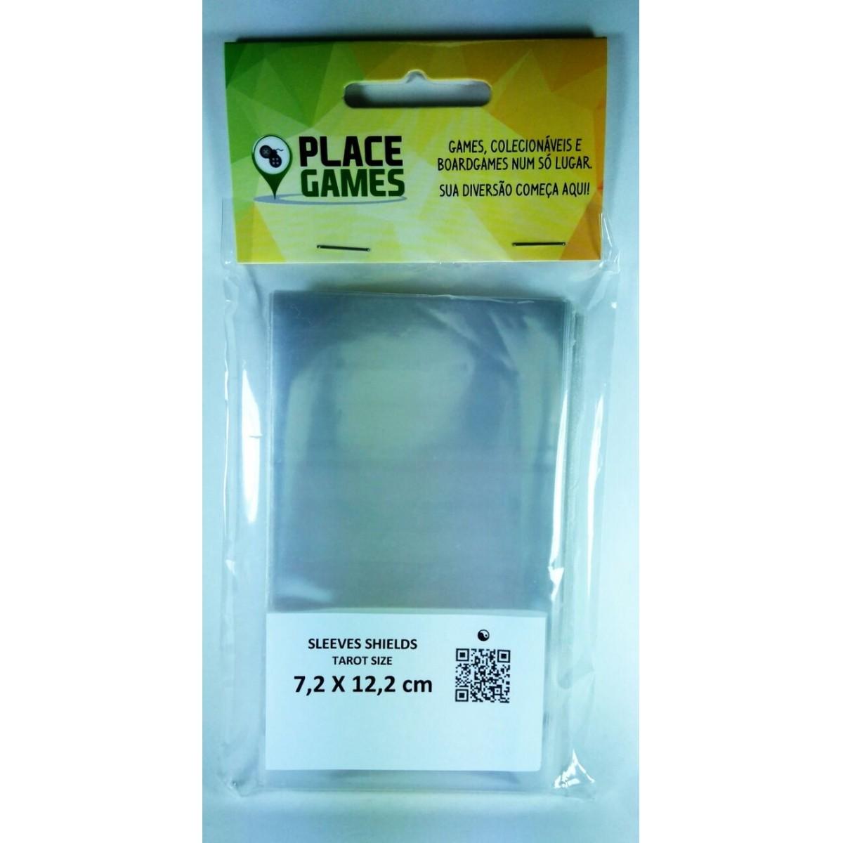 Shields Sleeves Tarot 72 X 122mm Capas protetoras 100 unidades  - Place Games