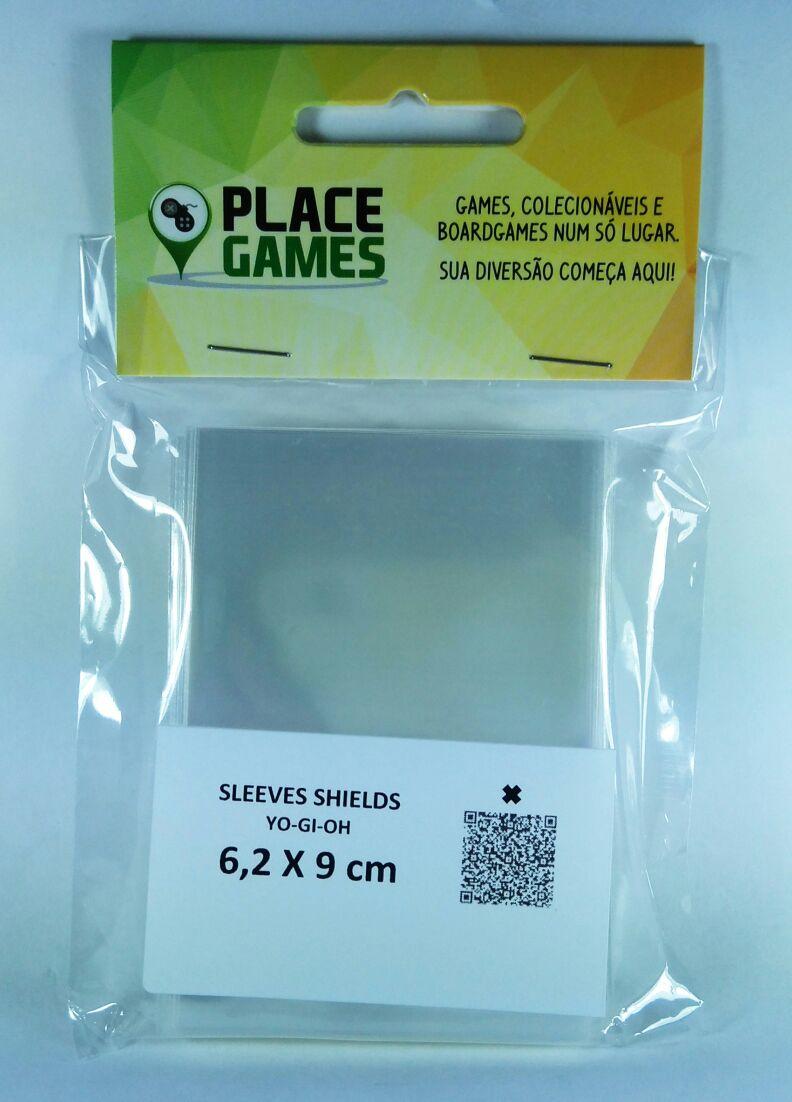 Shields Sleeves Yu-Gi-Oh 62 X 90mm Capas protetoras 100 unidades  - Place Games