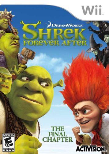 Shrek - Forever After Wii Usado Original  - Place Games