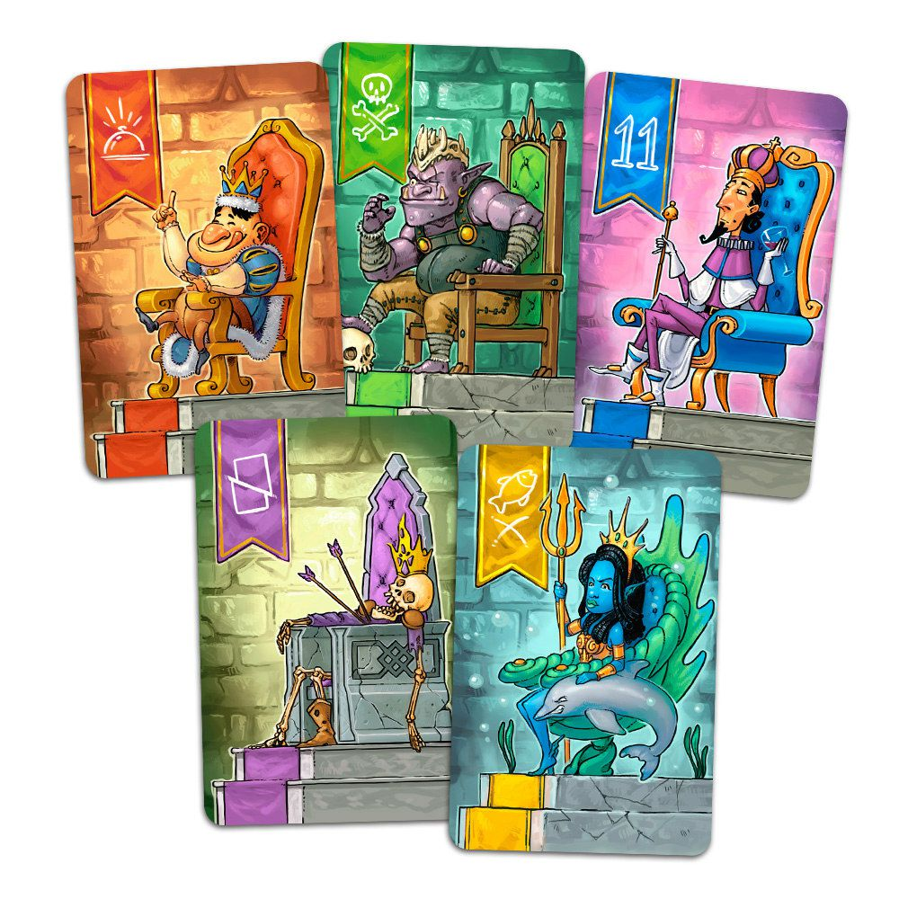 Sirvam o Rei Jogo de Cartas TGM Editora TGM0004  - Place Games