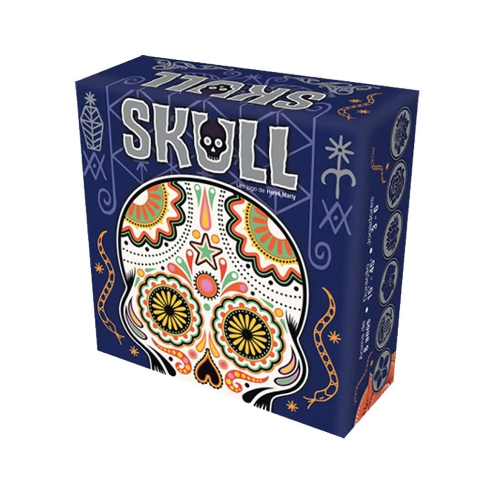Skull Jogo de Tabuleiro Galapagos SKL001  - Place Games