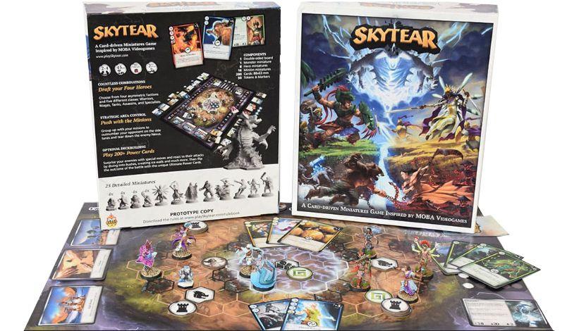 SkyTear Jogo de Tabuleiro Editora Precisamente   - Place Games