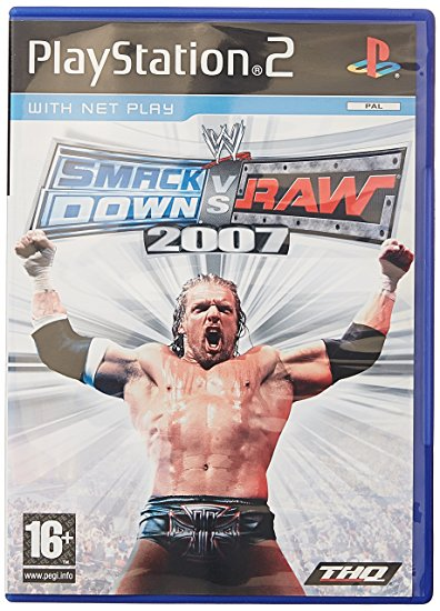 Smack Down vs Raw 07 PS2 Original Usado PAL  - Place Games