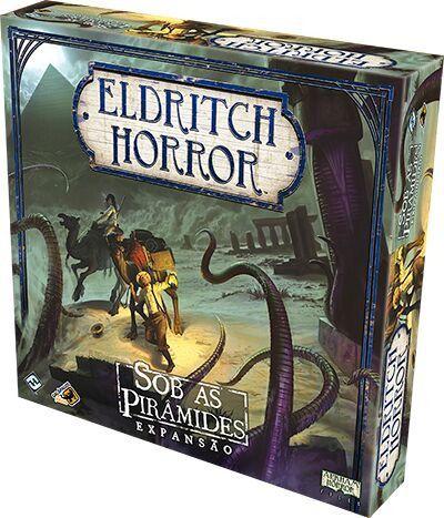 Eldritch Horror Sob as Pirâmides Expansão Galapagos EHR005  - Place Games