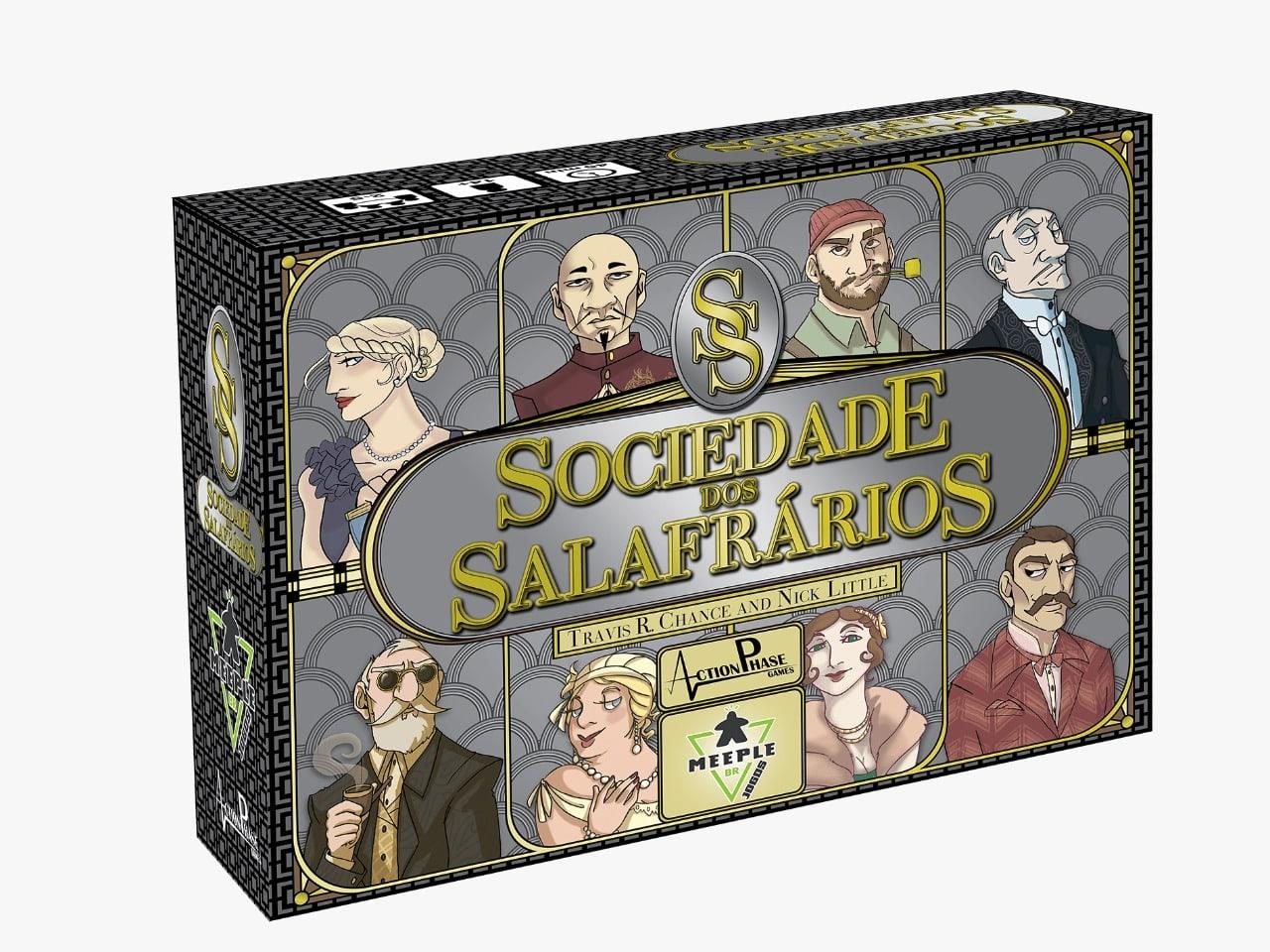 Sociedade dos Salafrarios Jogo de Tabuleiro Meeple BR  - Place Games
