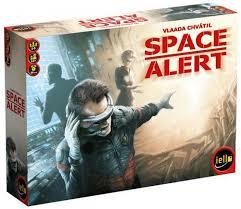 Space Alert Jogo de Tabuleiro Devir BGISPACE  - Place Games