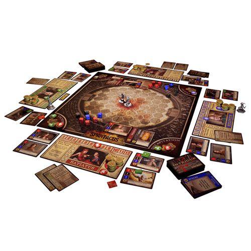 Spartacus Um jogo de Sangue e Traições Jogo de Tabuleiro Kronos Games  - Place Games