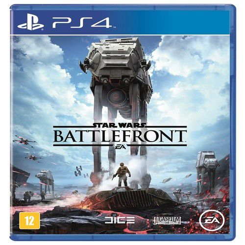 Star Wars Battlefront Playstation 4 Original Novo  - Place Games