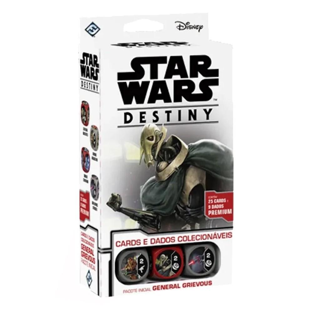Star Wars Destiny Pacote Inicial General Grievous Jogo de Cartas Galapagos SWD014  - Place Games