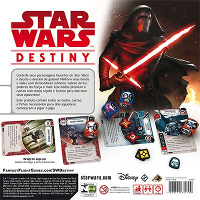 Star Wars Destiny Pacote Inicial para 2 Jogadores Galapagos SWD008  - Place Games