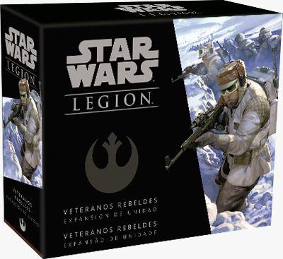 Star Wars Legion Veteranos Rebeldes Expansão de Unidade Galapagos SWL039  - Place Games