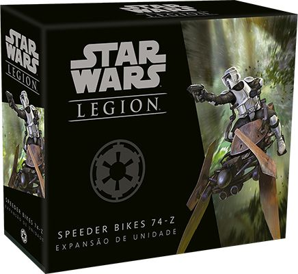 Star Wars Legion Wave 0 Speeder Bikes 74-Z Expansão de Unidade Galapagos SWL006  - Place Games