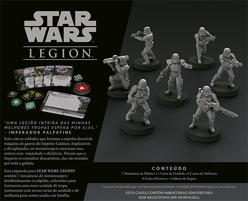 Star Wars Legion Wave 0 Stormtroopers Expansão de Unidade Galapagos SWL007  - Place Games