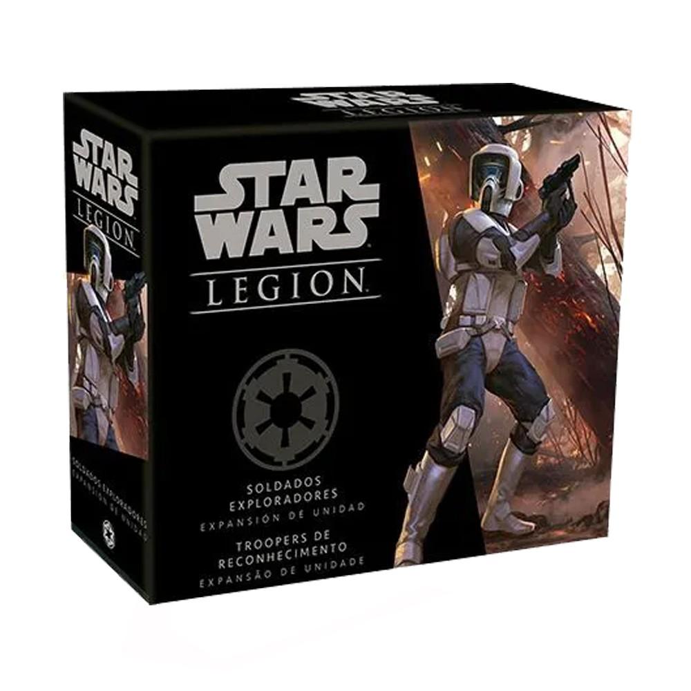 Star Wars Legion Wave 2 Troopers de Reconhecimento Expansão de Unidade Galapagos SWL019  - Place Games