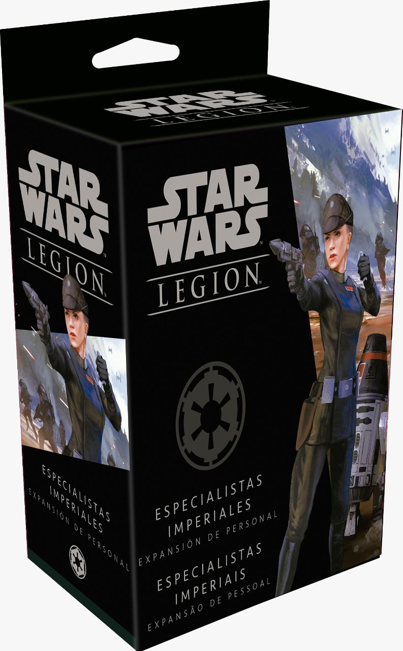 Star Wars Legion Wave 3 Especialistas Imperiais Expansão de Pessoa Galapagos SWL027  - Place Games