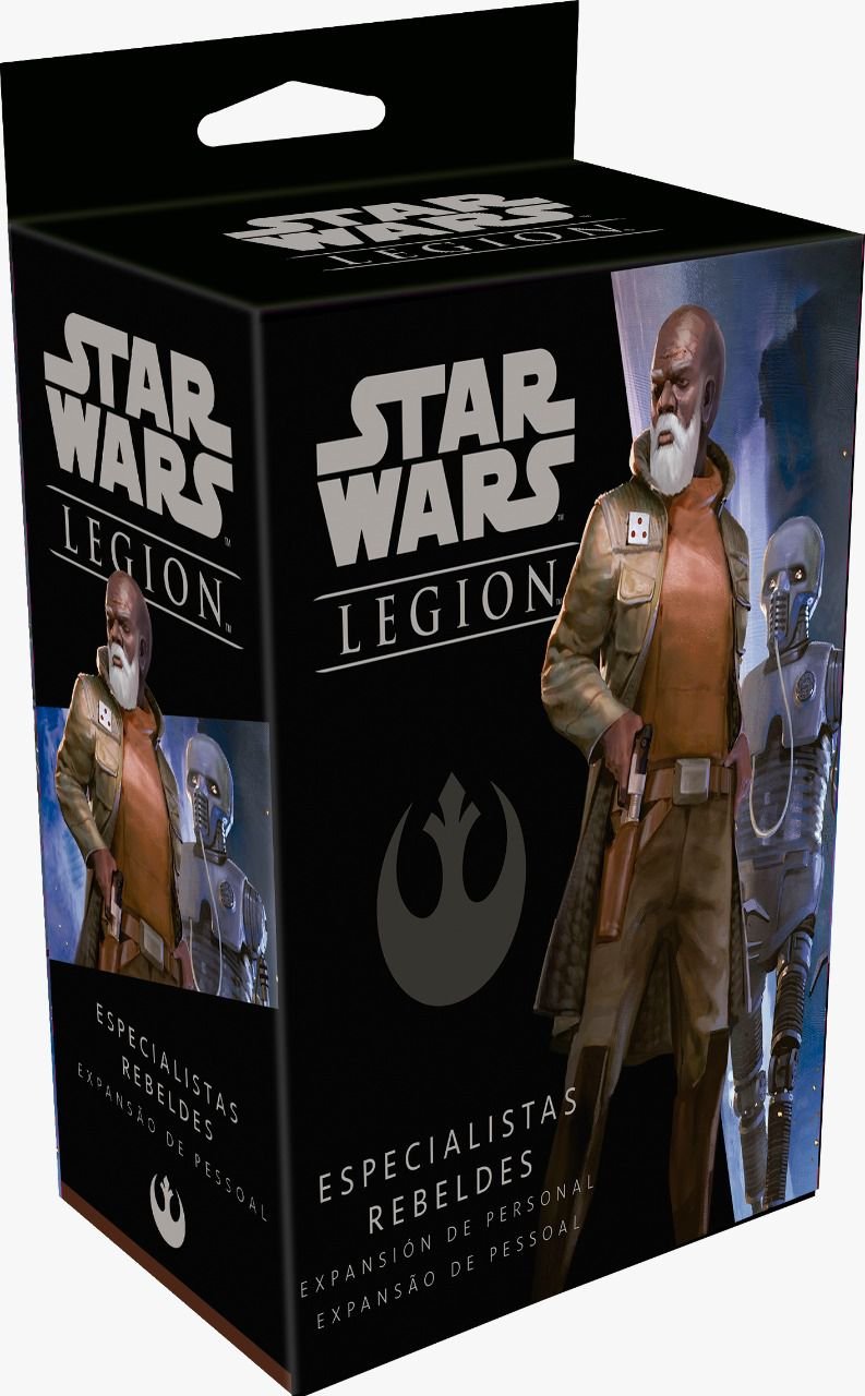 Star Wars Legion Wave 3 Especialistas Rebeldes Expansão de Pessoa Galapagos SWL026  - Place Games