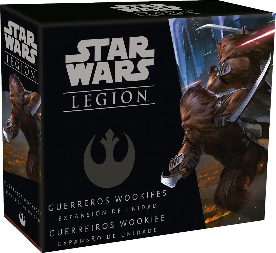 Star Wars Legion Wave 3 Guerreiros Wookie Expansão de Unidade Galapagos SWL025  - Place Games