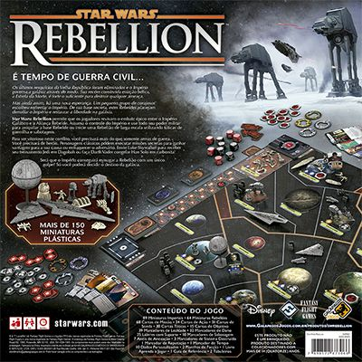 Star Wars Rebellion Jogo de Tabuleiro Galapagos SWR001  - Place Games