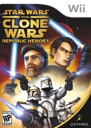 Star Wars The Clone Wars - Republic Heroes Wii Usado Original  - Place Games