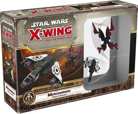 Star Wars X Wing Aces Mercenários Galapagos SWX073  - Place Games