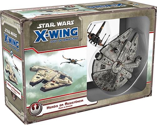 Star Wars X Wing Heróis da Resistência Galapagos SWX057  - Place Games
