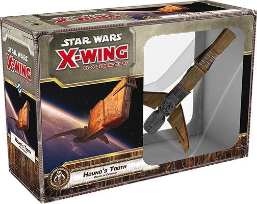 Star Wars X Wing Hounds Tooth Expansão de Jogo de Miniaturas Galapagos SWX031  - Place Games