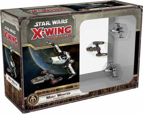 Star Wars X Wing Mais Procurados Galapagos SWX028  - Place Games