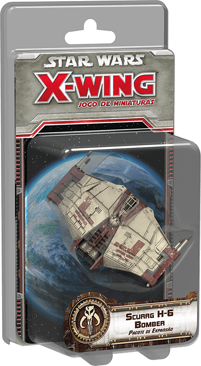 Star Wars X Wing Scurrg H-6 Bomber Galapagos SWX065  - Place Games