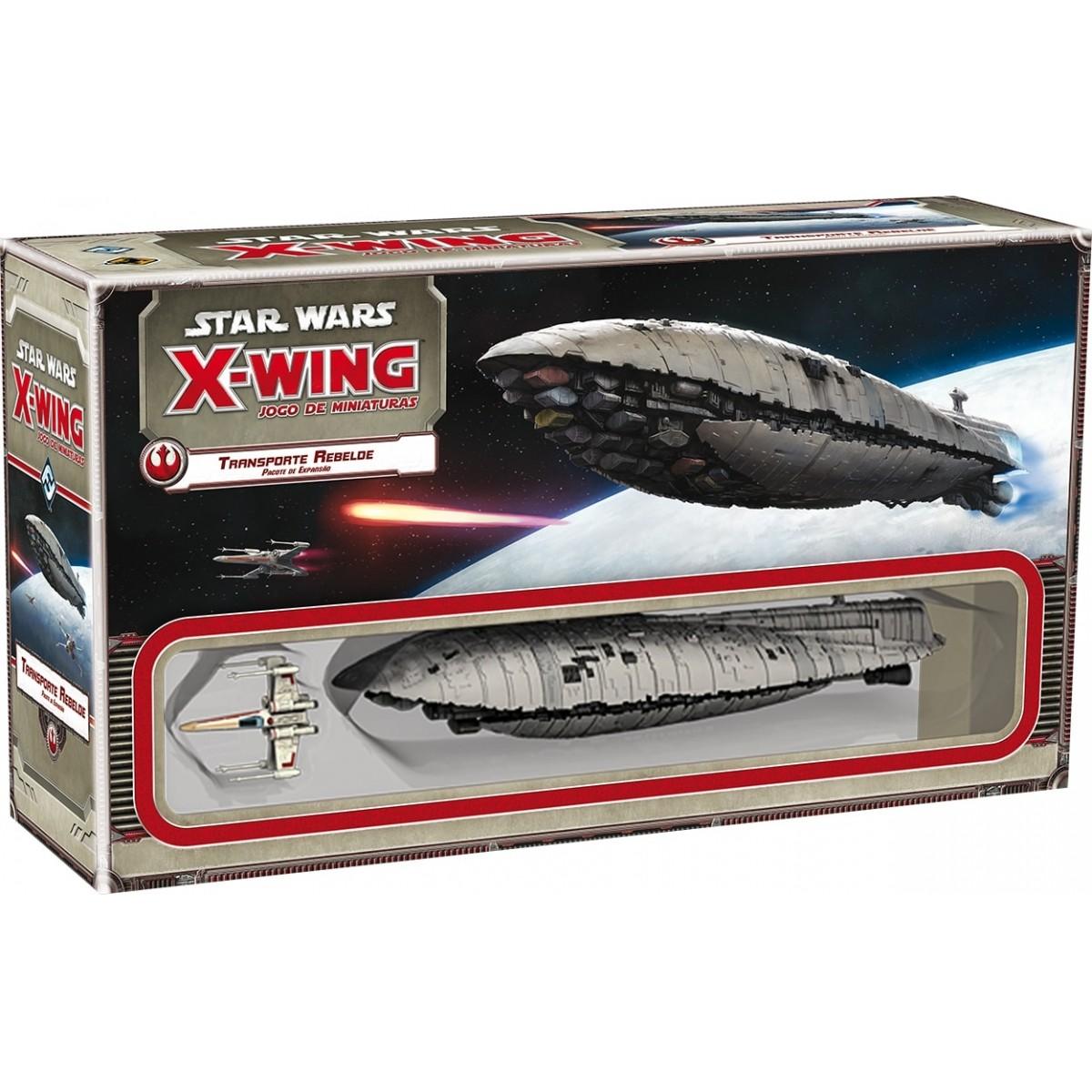 Star Wars X Wing Transporte Rebelde Galapagos SWX011  - Place Games