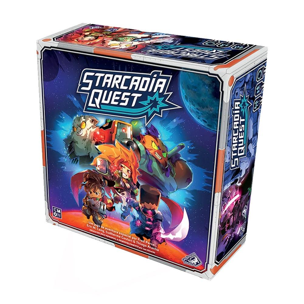 Starcadia Quest Jogo de Tabuleiro Galapagos SAQ001  - Place Games