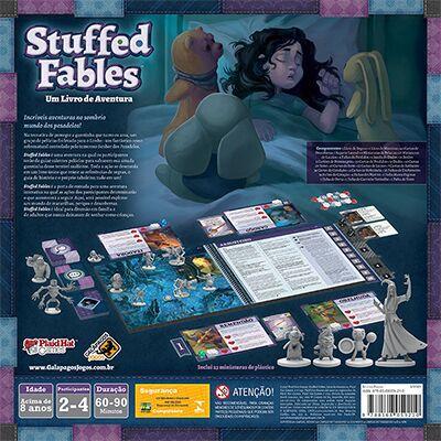 Stuffed Fables Jogo de Tabuleiro Galapagos STF001  - Place Games