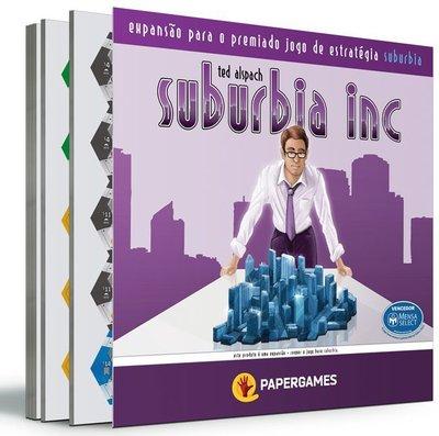 Suburbia Inc Expansão PaperGames J010  - Place Games