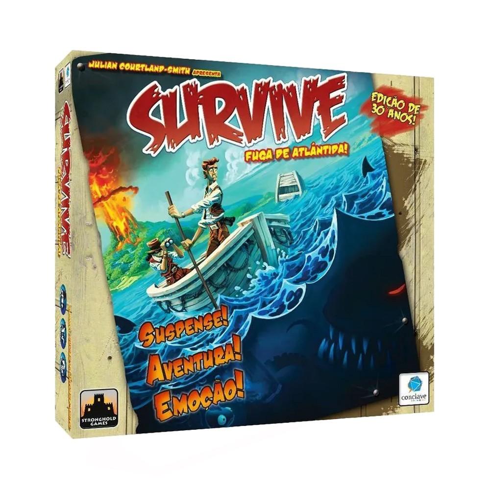 Survive Fuga de Atlantida Jogo de Tabuleiro Conclave  - Place Games