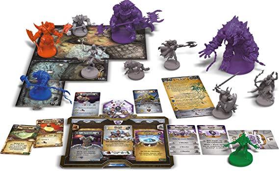 Sword & Sorcery Espiritos Imortais Jogo de Tabuleiro Devir BGSIS  - Place Games