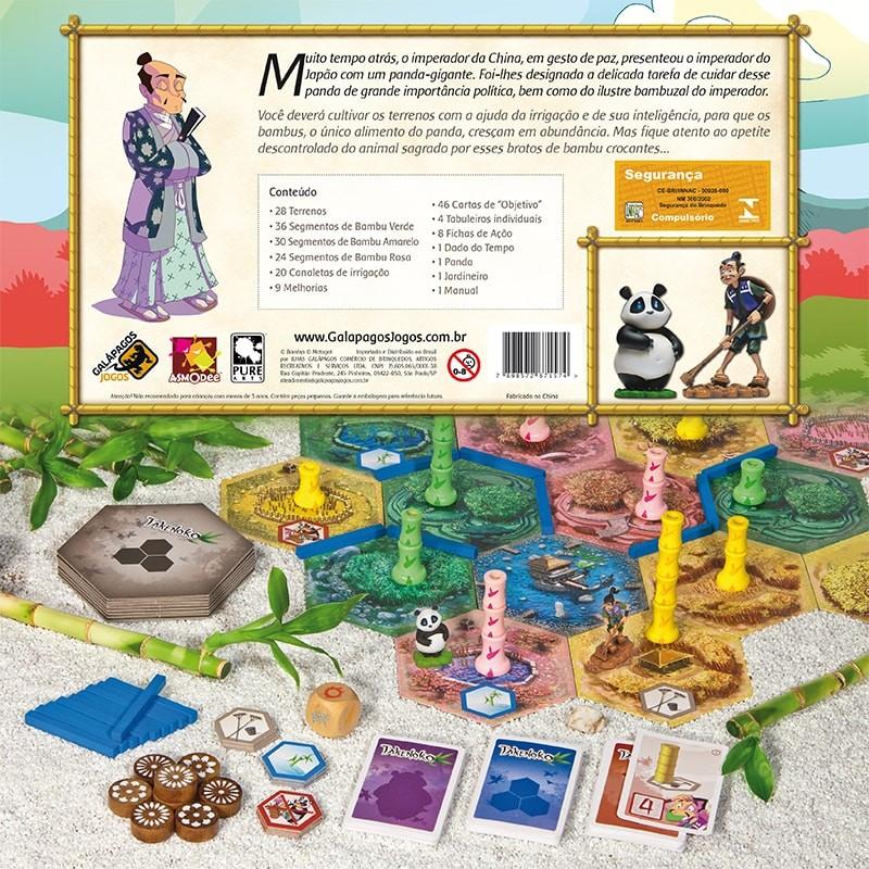 Takenoko Jogo de Tabuleiro Galapagos TAK001  - Place Games