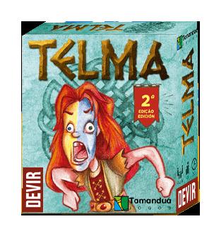 Telma Segunda Edição Jogo de Cartas Devir JDT777009  - Place Games