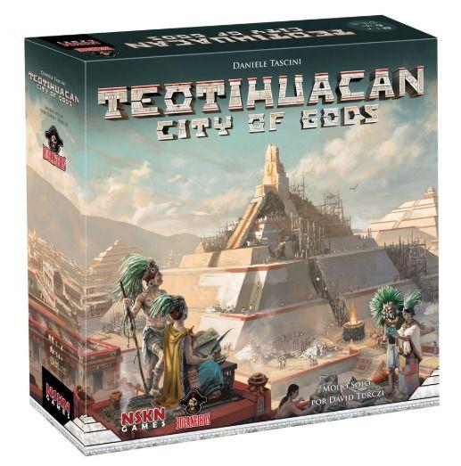 Teotihuacan City of Gods Jogo de Tabuleiro Bucaneiros   - Place Games