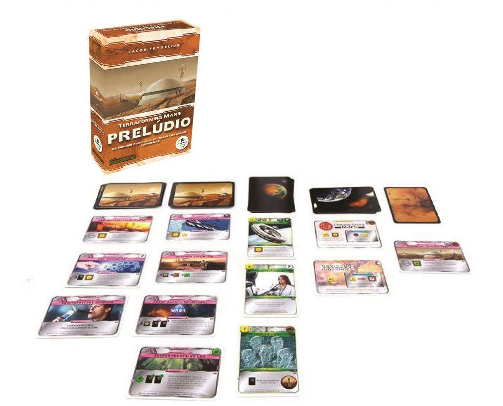 Terraforming Mars Expansão Preludio Meeple BR   - Place Games